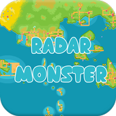 PokeRadar Find Nearby Monster icon