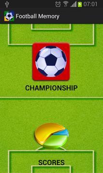 Football Memory Championship poster
