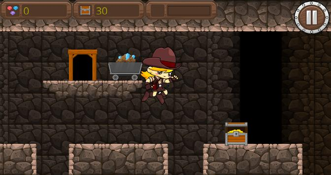 MineRun Pro - Gold Miner Game apk screenshot