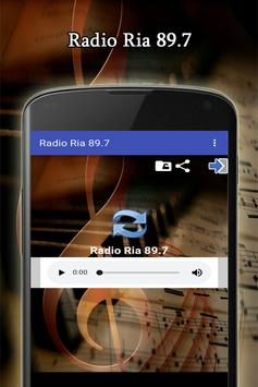 Radio Ria 89.7 screenshot 1