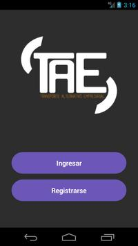 TAE poster