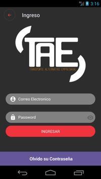 TAE screenshot 1