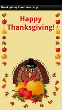 Thanksgiving Countdown App apk screenshot