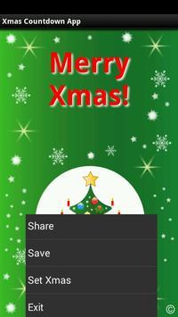 Xmas Countdown App apk screenshot