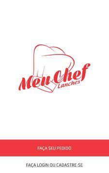 Meu Chef Lanches poster