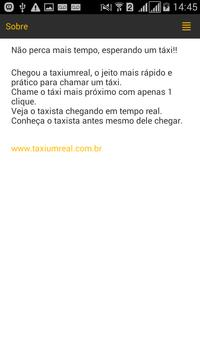 Bandeira1 Taxista screenshot 2