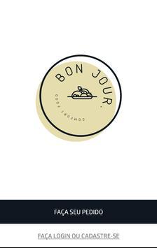 Bon Jour Comfort Food poster