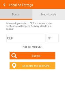 Camperia Delivery apk screenshot