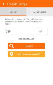 Casa das Delícias apk screenshot