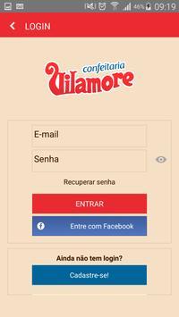 Confeitaria Vilamore apk screenshot
