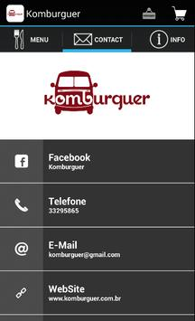 Komburguer apk screenshot