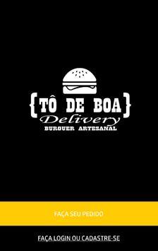 Tô de Boa Delivery poster