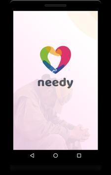 needy poster