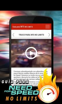 Need for Speed: NL Guide apk screenshot