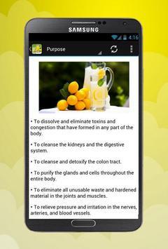 Lemonade Diet weight loss apk screenshot