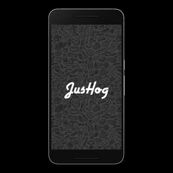 JusHog poster