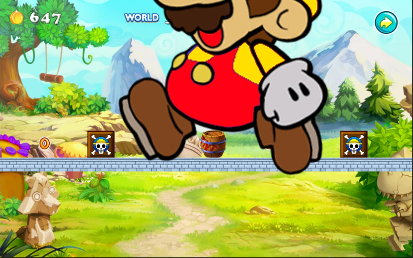 paper mario android