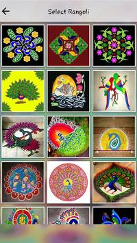 Latest Rangoli Design poster