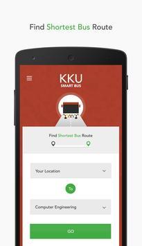 KKU SmartBus poster