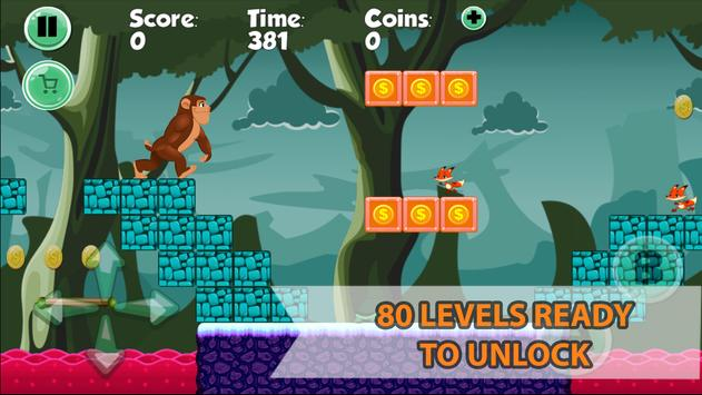 Super Monkey Hero World - Adventure of Jungle screenshot 1