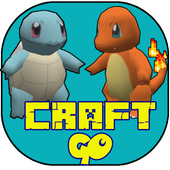 craft GO : pixelmon multicraft icon
