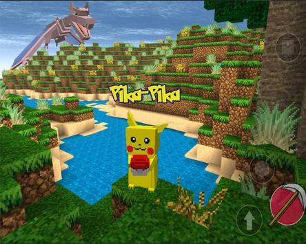 Pixelmon Craft GO : Cube World poster