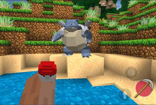 Multicraft pixelmon GO world 2 apk screenshot
