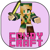 Craft girls : candy world Go icon