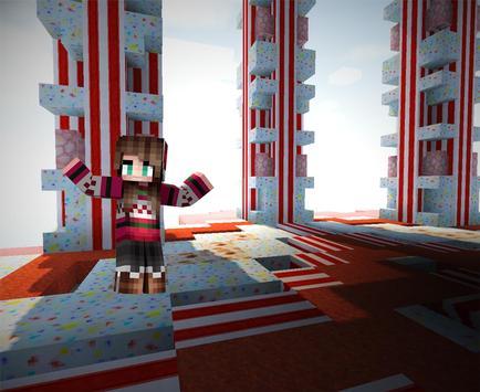 Craft girls : candy world Go apk screenshot