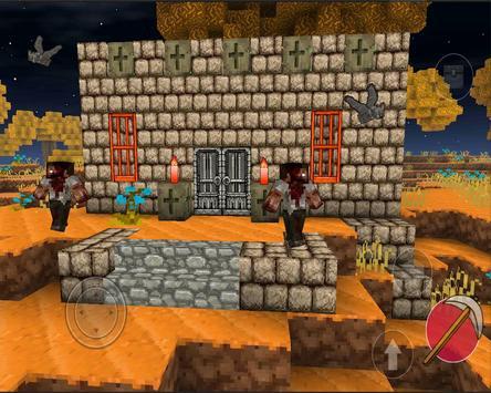 Halloween craft : pixel play apk screenshot