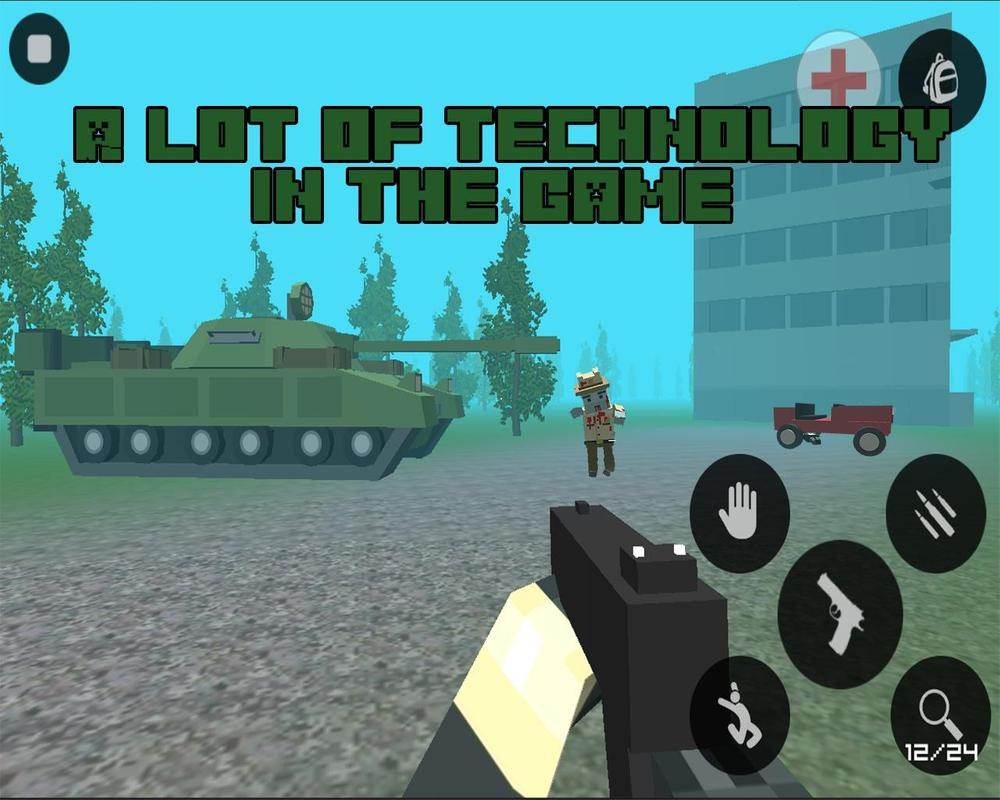 gun craft: pixel zombie war 3D for Android - APK Download