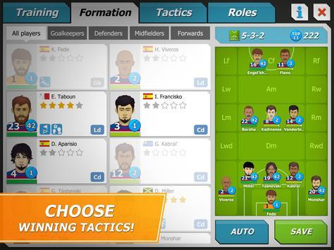 11x11: Football manager apk screenshot