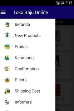 Toko Baju Online apk screenshot