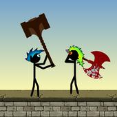 Stickman Warriors Smash icon