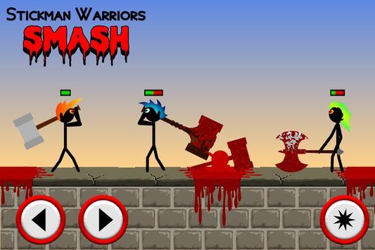 Stickman Warriors Smash poster
