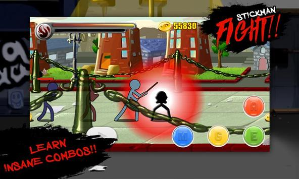 Stickman Fighting Warriors screenshot 1