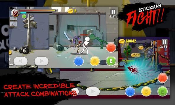 Stickman Fighting Warriors screenshot 5