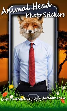 Animal Head Photo Stickers screenshot 9