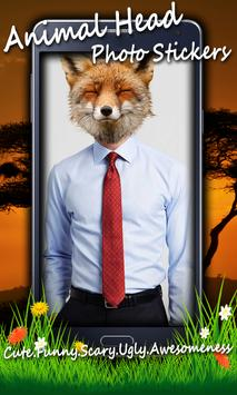Animal Head Photo Stickers screenshot 2
