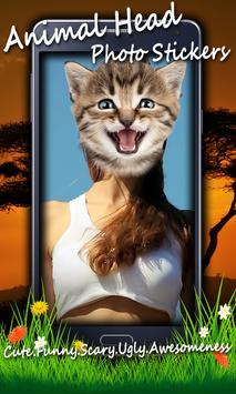 Animal Head Photo Stickers screenshot 3
