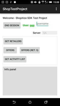 TestShopApp apk screenshot