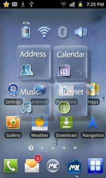 GlassTransparency Free Theme screenshot 2