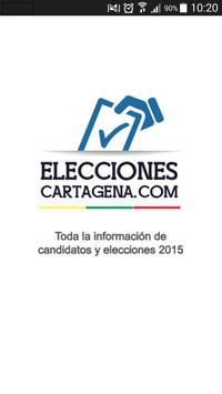 Elecciones Cartagena poster