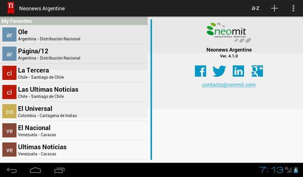 Neonews Brazil screenshot 10