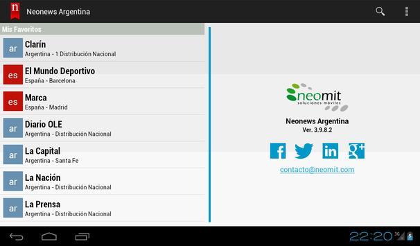 Neonews Brazil screenshot 9