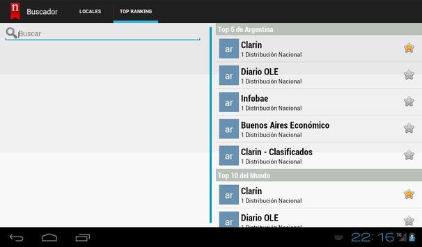 Neonews Canadá apk screenshot