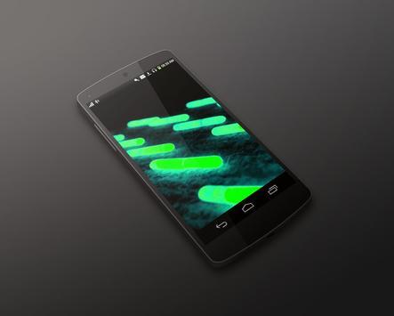 Neon Capcules HD LiveWallpaper screenshot 1
