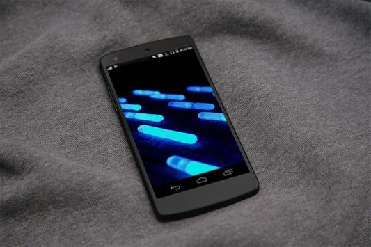 Neon Capcules HD LiveWallpaper screenshot 3