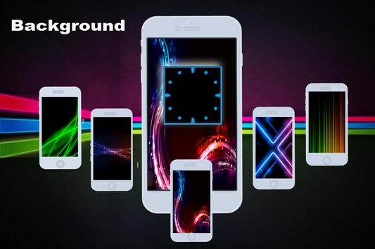 Neon Clock Live apk screenshot