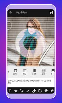 Neon Photo Editor - Neon Effect screenshot 1